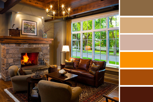 Cozy color schemes for living room decor for 7 cosy living room looks for autumn
